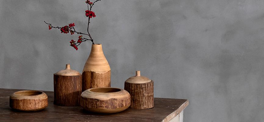 Coincasa RE:SPECT articoli in legno di mango